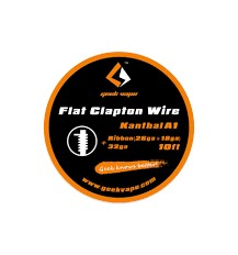 SS Flat clapton wire Geek Vape