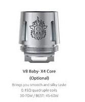 Resistencias TFV 8 Baby X4 Quad Coil