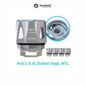 Resistencia Joyetech ProC1-S 0.25 ohm.