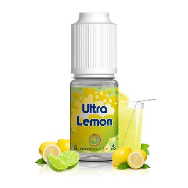 Nova Liquides- Ultra Lemon 10 ml 0 mg