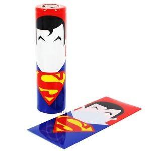 Envoltorio termoretractil para baterías 18650 (Superman)