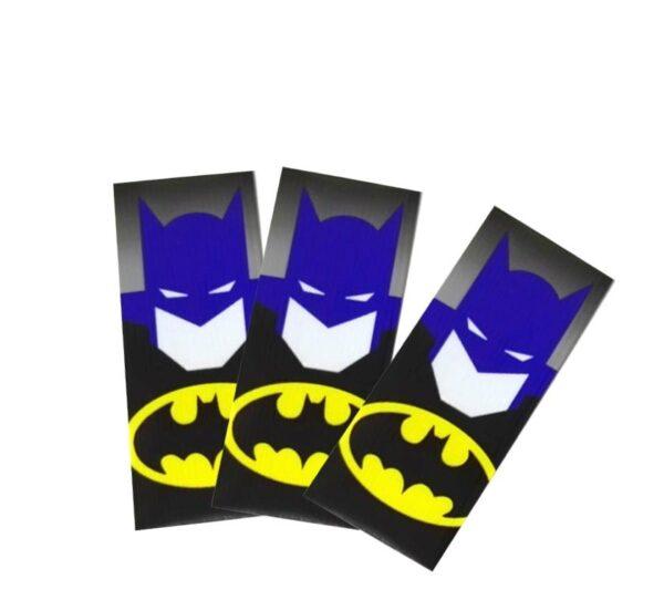 Envoltorio termoretractil para baterías 18650 (Batman)