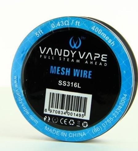 Vandy Vape ss316l mesh 400