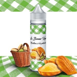 La bonne Vape- Madeleine Pistache 50 ml 0 mg