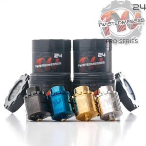 Twisted Messes 24 Pro-Series RDA SS Negro