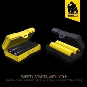 (Porta baterias) Chubby Gorilla amarillo