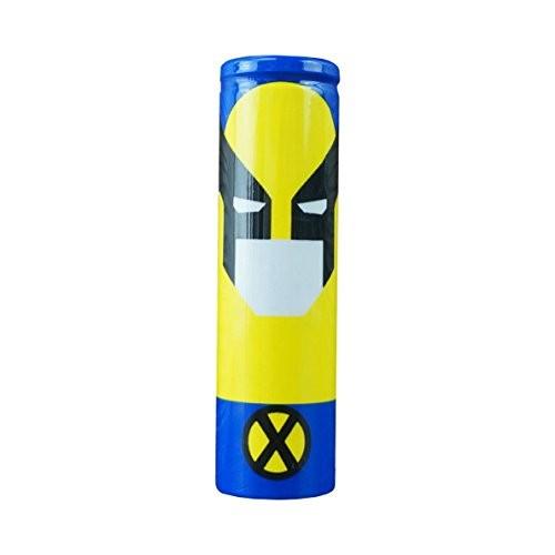 Envoltorio termoretractil para baterías 18650 (Wolverine)