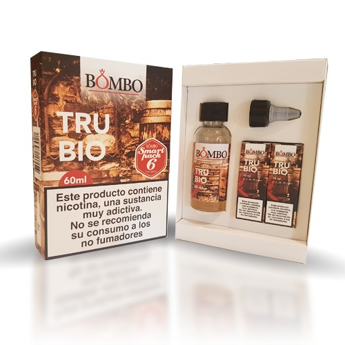 Bombo Eliquids - Trubio 60ml Smart Pack 3mg
