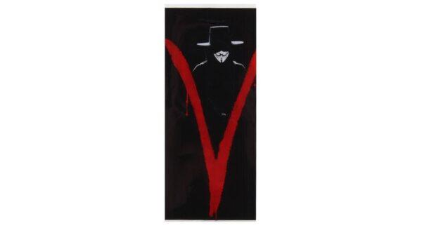 Envoltorio termoretractil para baterías 18650 (V de Vendetta)