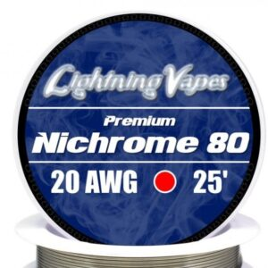 Lightning Vapes - Bobina Nichrome 80 34 AWG 7,5 m
