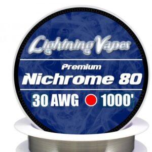 Lightning Vapes - Bobina Nichrome 80 36 AWG 300 m