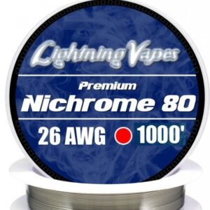 Lightning Vapes - Bobina Nichrome 80 26 AWG 75 m