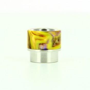 Drip Tip de resina epoxy honeycomb verde