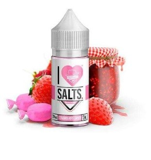 Mad Hatter Juice (I Love Salts) Strawberry Candy 10ml 20mg