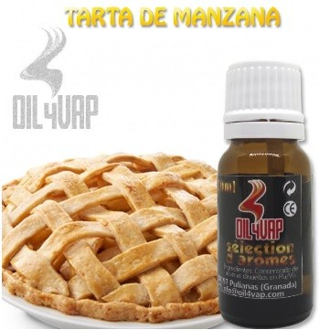 Oil4vap Tarta de Manzana