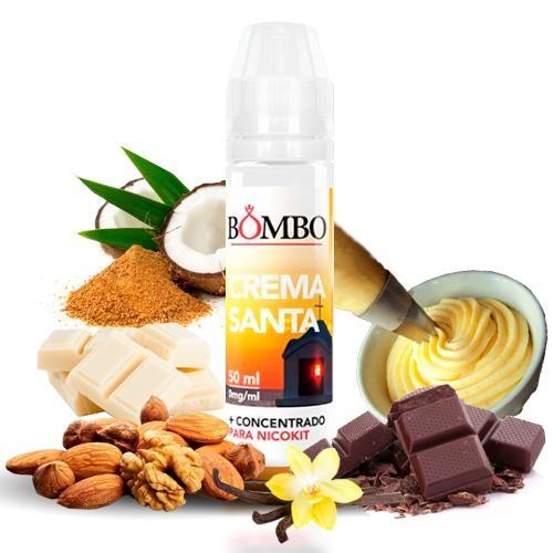 Bombo Eliquids - Crema Santa 50 ml 0 mg