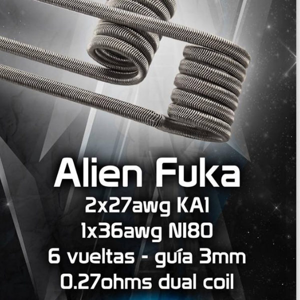 Chus coil Alien fuka tienda Madrid