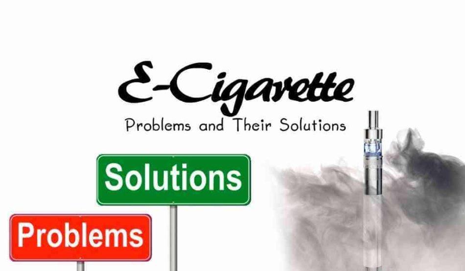 Problemas frecuentes cigarrillos electrónicos